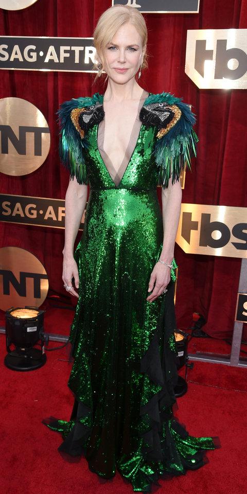 Nicole Kidman dazzled in Gucci