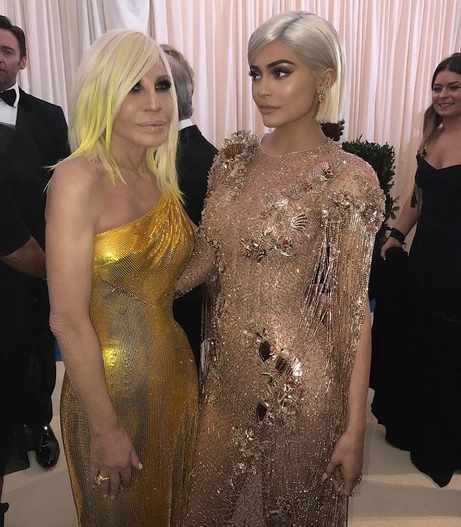 Kylie in Dolce & Gabbana