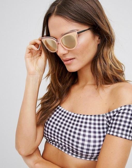 South Beach Oversized Perspex Cateye Sunglasses- ASOS $23.00