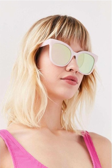 Carmen Over sized Cat-Eye Sunglasses- Urban Outfitters $18.00