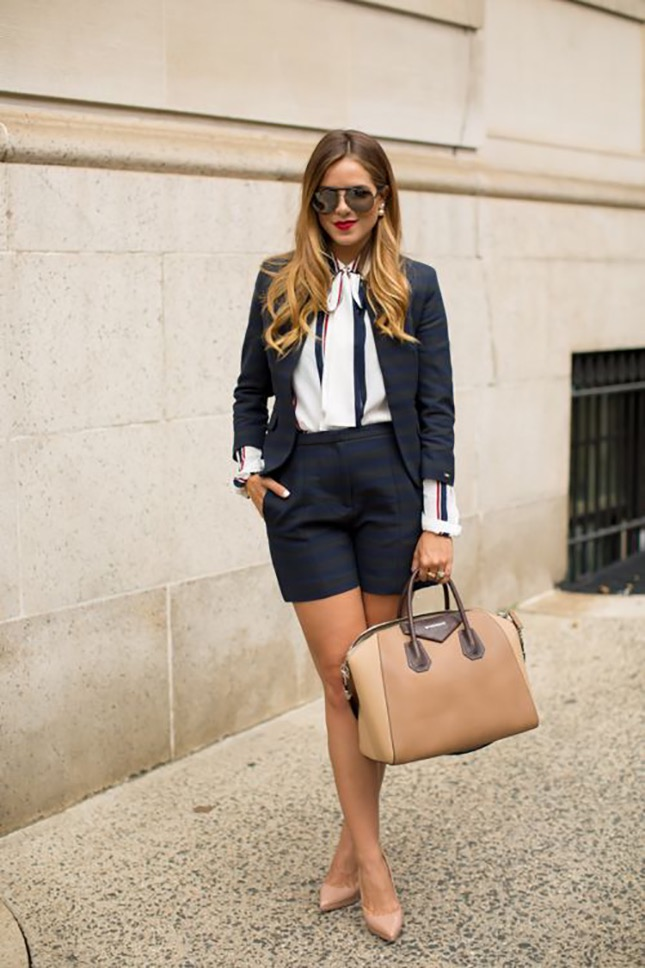This short suite can replace the 'power suit' any day! (photo credit: brit + co)
