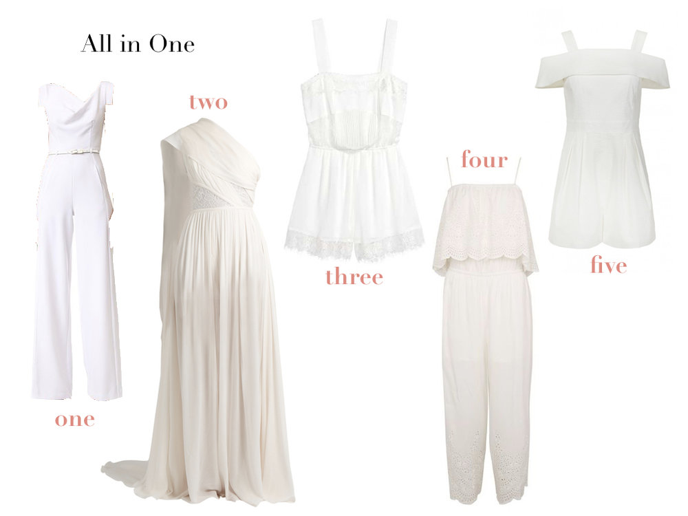 one.  BLACK HALO , $390 | two.  ELIE SAAB , $3,257 | three.  H&M , $24.99 | four.  TOPSHOP , $75 | five.  TIBI , $495