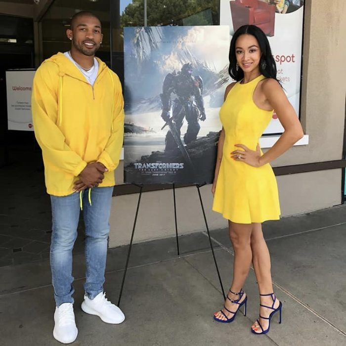A ray of sunlight for Draya and her baller bae Orlando Scandrick