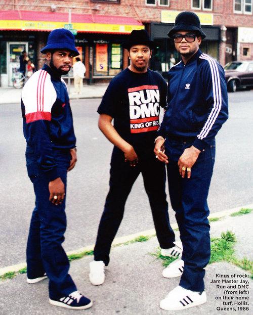 Run DMC circa 1986