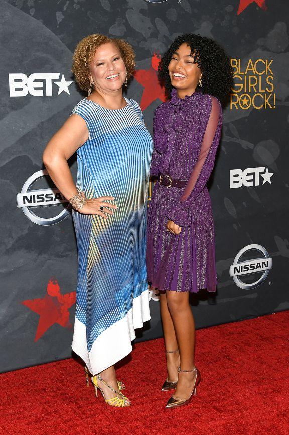 Debra Lee & Yara Shahidi