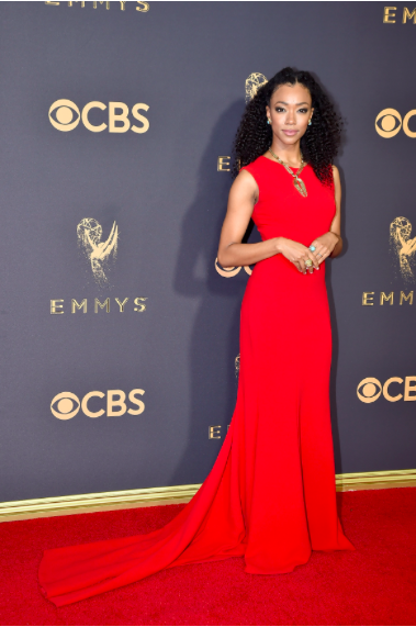 Sonequa Martin-Green in Romona Keveza Collection