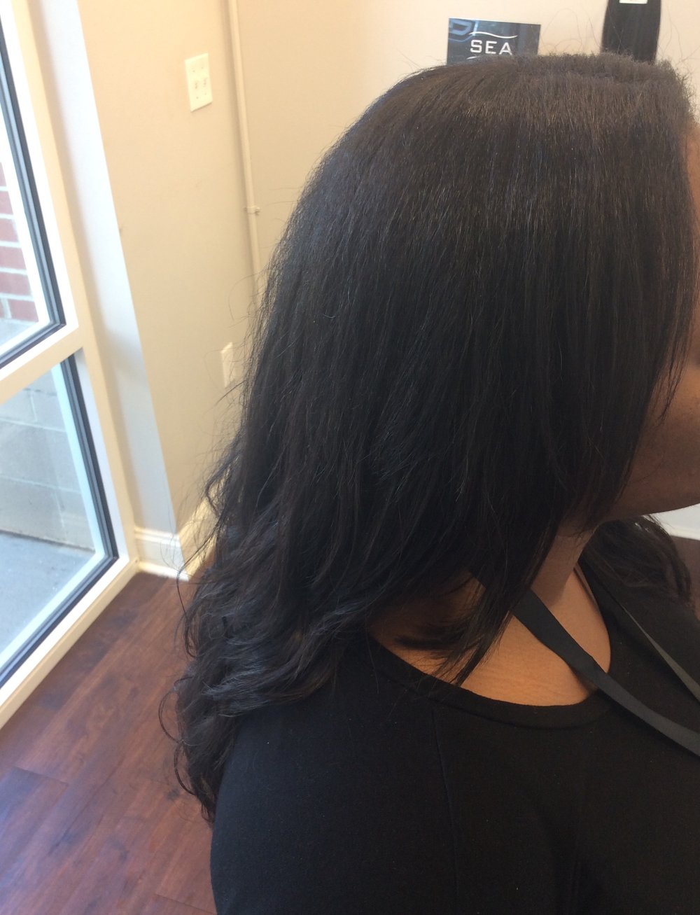 "Indique's  Pure Wavy 18"" & 20""  with minimal hair leave out"