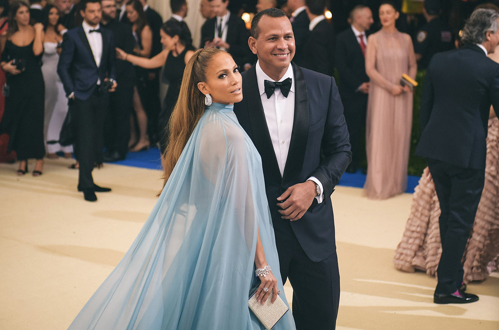 Jlo and A. Rod at 2017 Met Gala