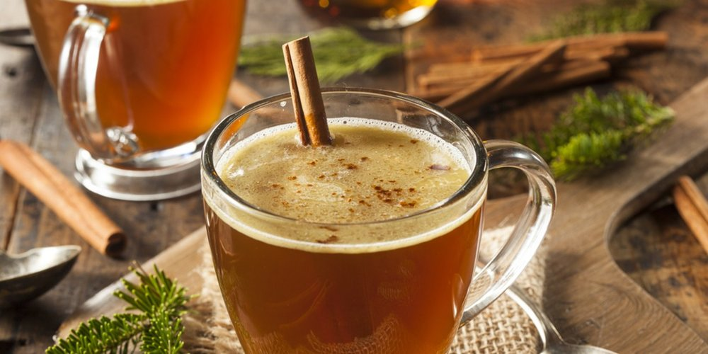 Cinnamon Hot Buttered Rum