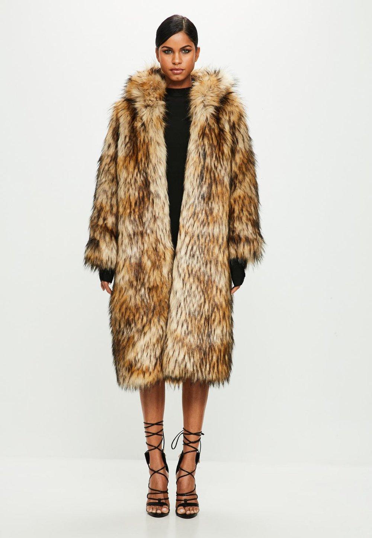 Brown Faux Fur