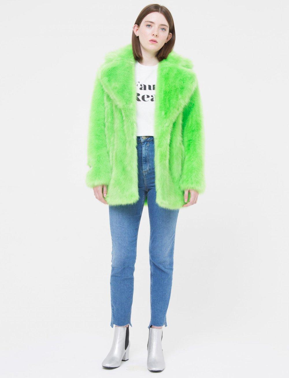 Neon Faux Fur