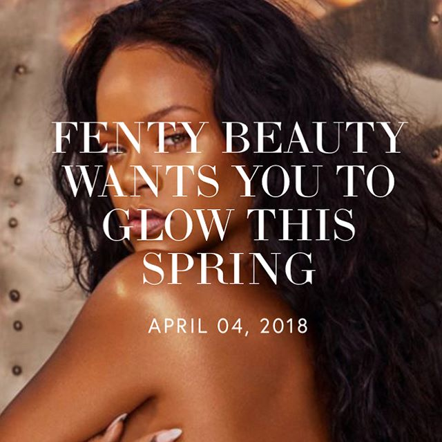 It's a little-known fact that anything Rihanna touches turns to gold; evidence to this statement is the response of her newest business venture. Last year Rihanna launched  Fenty Beauty dominating the beauty industry.  However, it has been silent these past few months for Fenty Beauty, until now. The Bajan queen has sprinkled her magic touch, reviving an old beauty favorite from our tween years: body shimmer. It is making a HUGE come back, and this time with Fenty Beauty's seal of approval. Are you excited for this new product? Comment below. #fentybeauty #rihanna