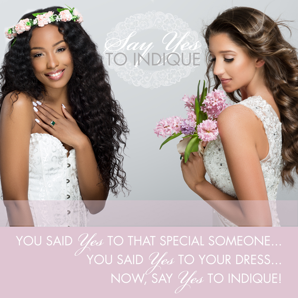 Brides-to-be, enjoy 20% off your Indique Hair purchase! Find out more  here .