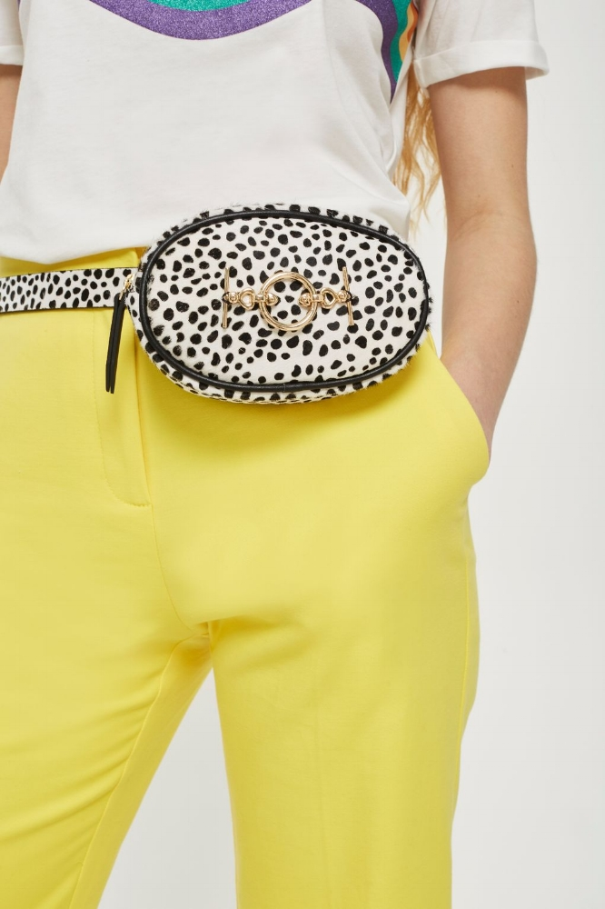 Leopard Purse Belt $60.00 Available at TopShop