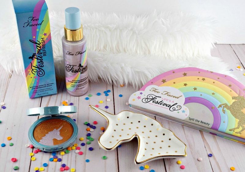 1-too-faced-lifes-a-festival-collection-review-swatches-peace-love-and-unicorns-eyeshadow-palette-unicorn-tears-iridescent-mystical-bronzer-festival-refresh-setting-spray-800x560.jpg