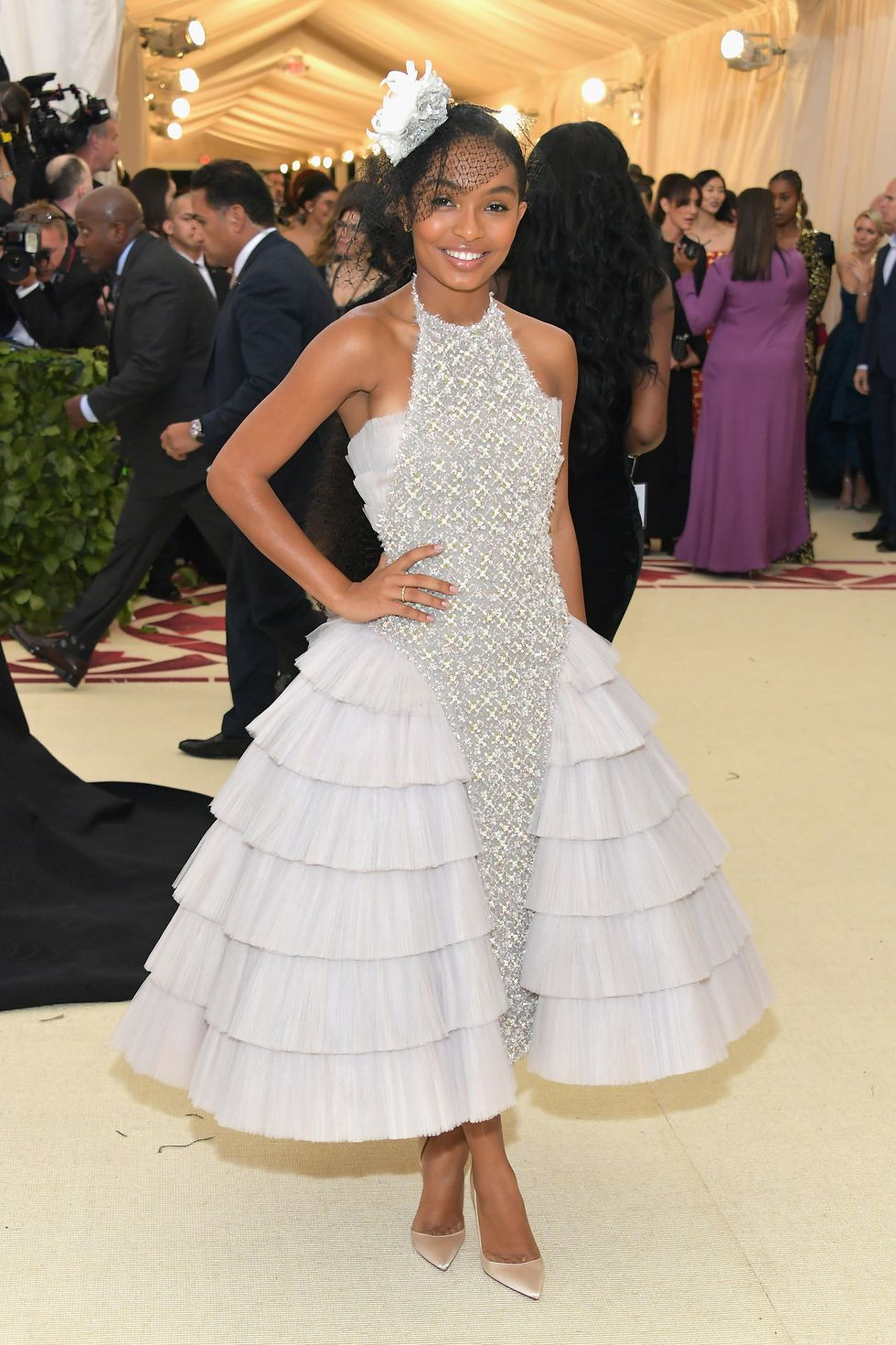 Yara Shahidi in Chanel