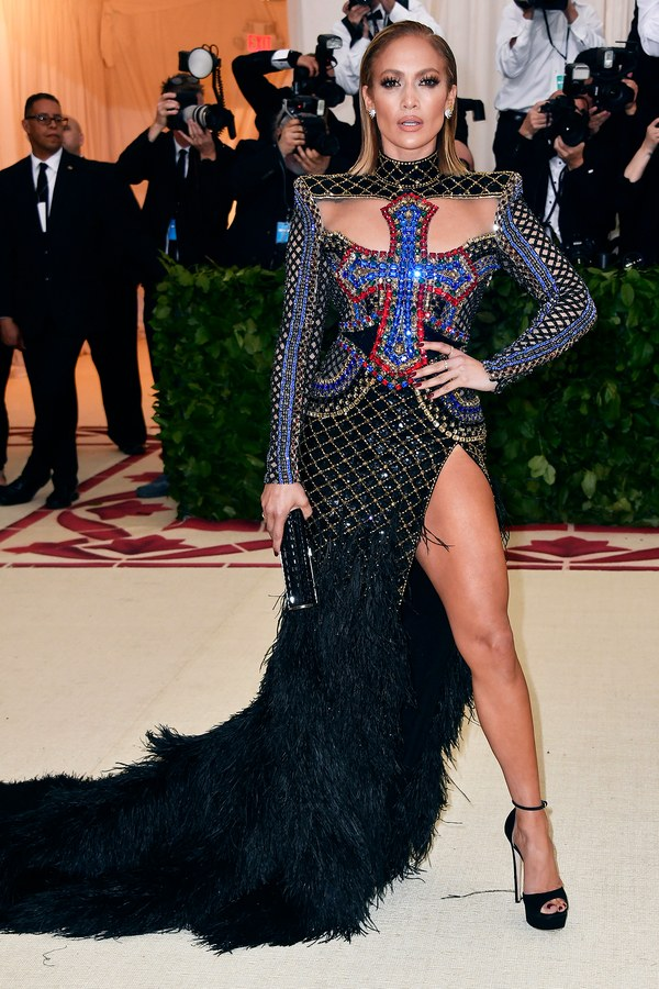 Jennifer Lopez in Balmain
