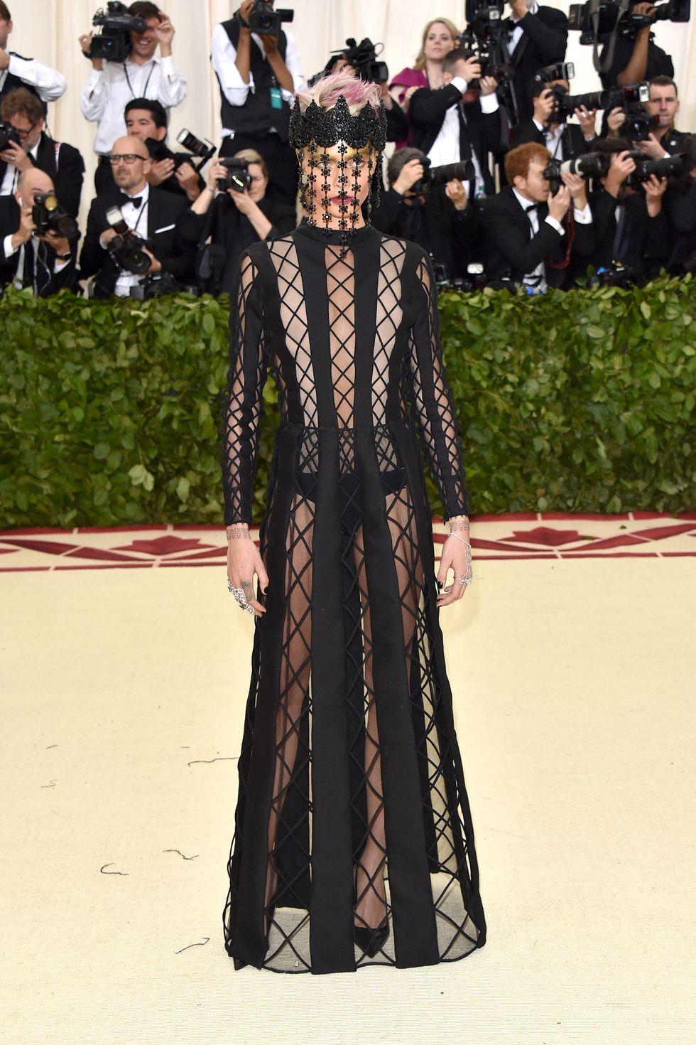 Cara Delivigne in Christian Dior Haute Couture