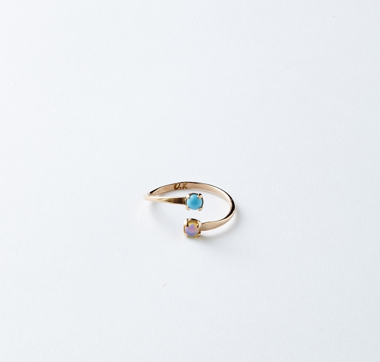 Matching Birthstone Ring     Olivia Kane Best Friend Birthstone Ring, Available at oliviakane.co., $297.00