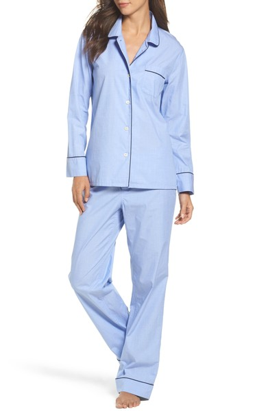 Cotton Pajamas    J.Crew Vintage Cotton Pajamas, Available at Nordstrom, $95.00