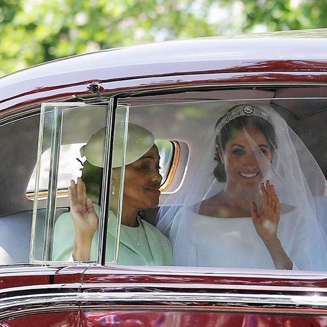 Hey Meghan & Doria ✨ Congratulations #MeghanandHarry!! #royalwedding