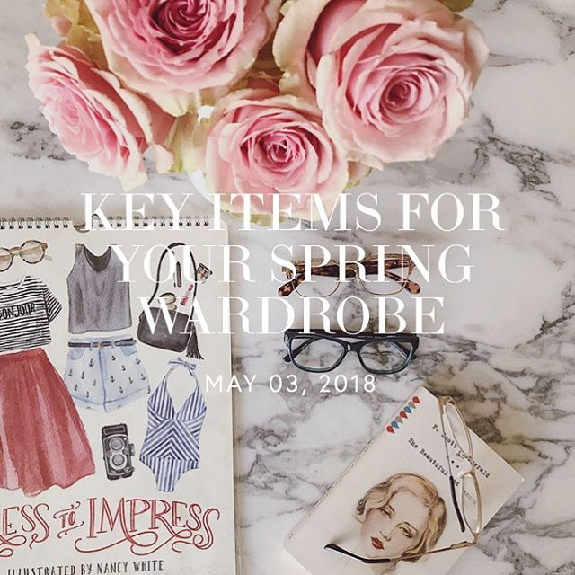 YOU CAN NEVER BE TOO PREPARED FOR SPRING, AND IT'S THE PERFECT SEASON TO SHAKE UP YOUR CLOSET WITH SOME KEY PIECES TO GIVE YOUR WARDROBE A FACELIFT!  Here are a few items that will surely make you pop this spring.... head over to #fluffmag to read more!