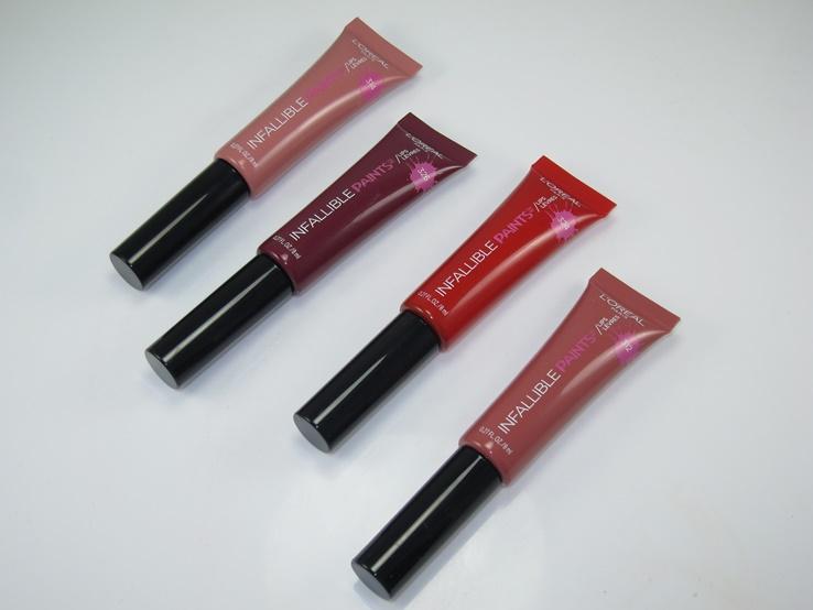 L'Oréal Paris Infallible Matte Lip Paints