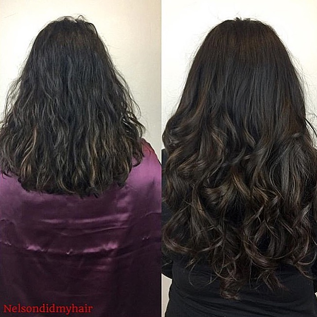 Attachment options… Micro-links / Braid-less Sew In by NY Stylist @nelsondidmyhair on Indique SOHO Client Care Liaison, Fabi.