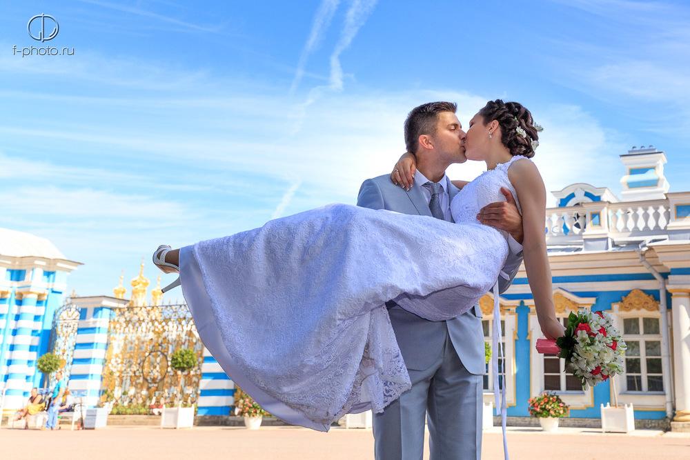 Свадебная фотосессия в Пушкине, Екатерининский парк