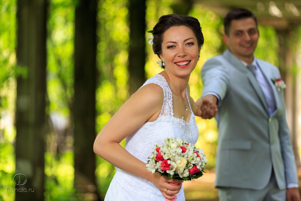 Свадебные фото в Пушкине, Екатерининский парк