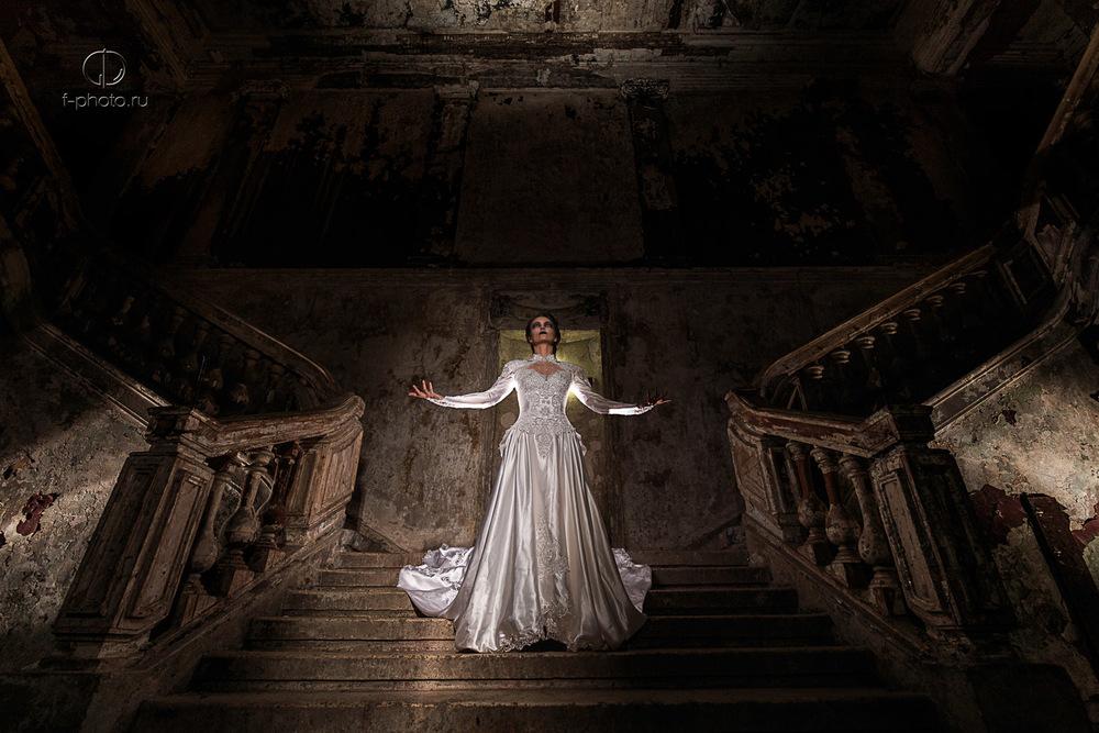 Интересные свадебные фотосессии