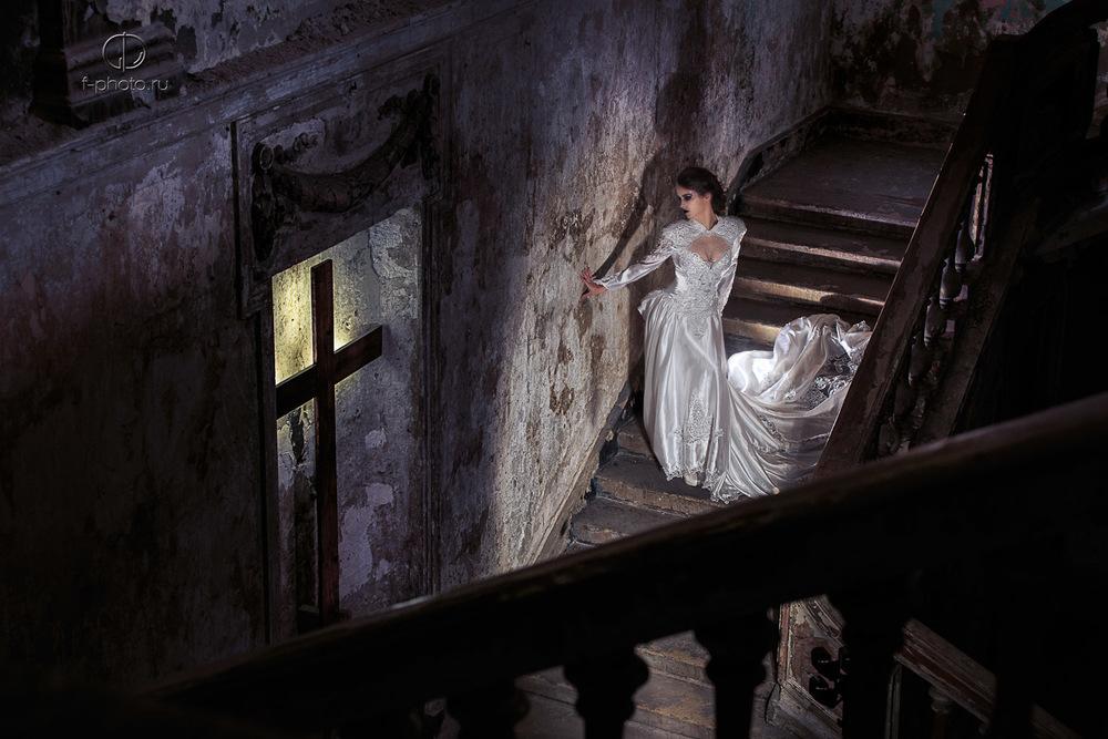 Необычные свадебные фотосессии