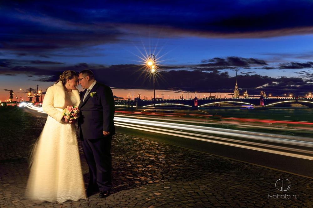 Свадебные фотографии в Летнем саду
