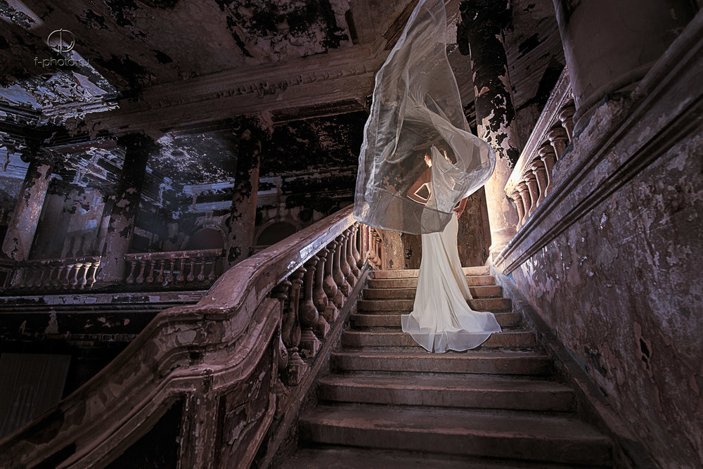 Креативные свадебные фото