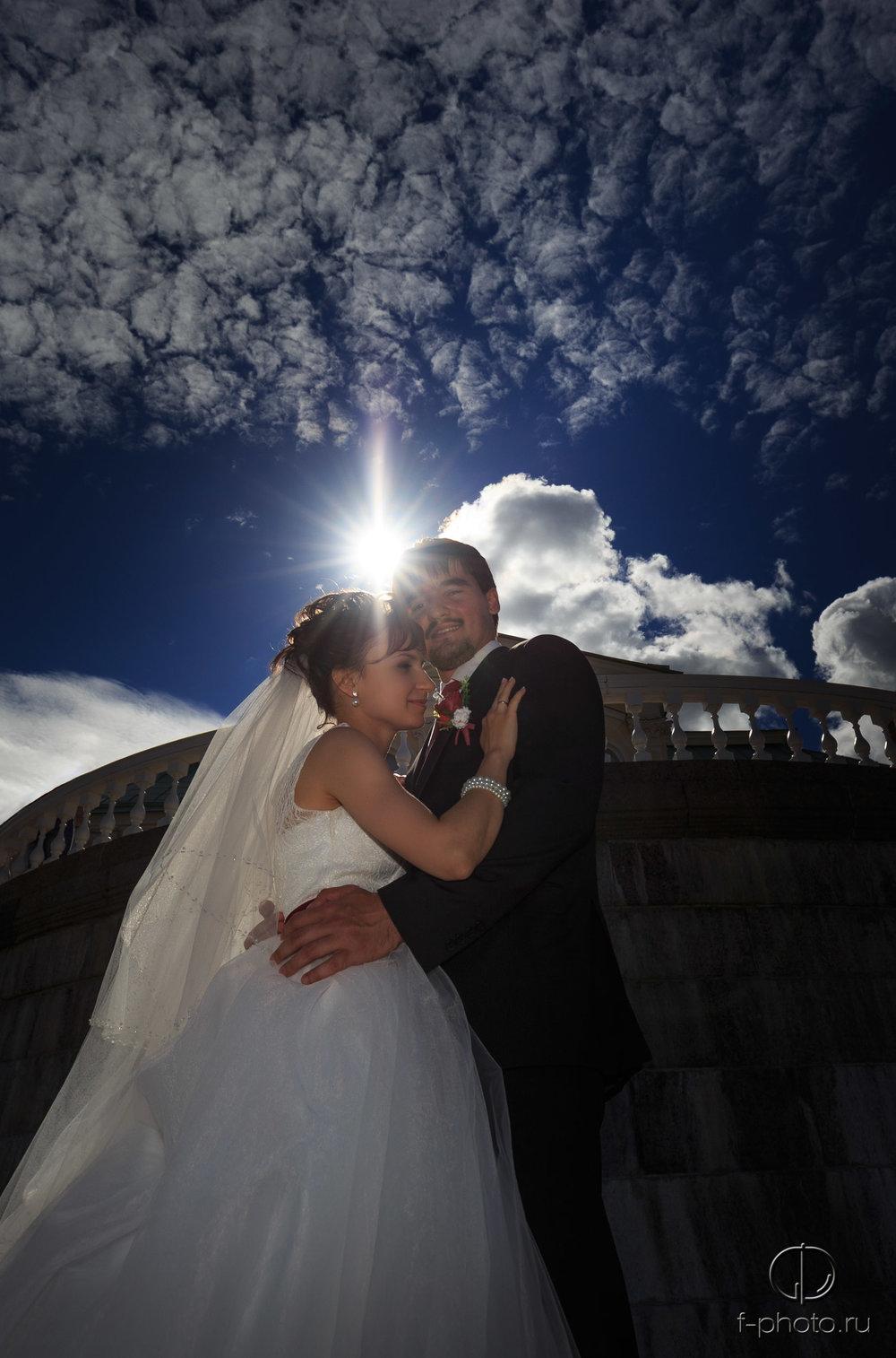 Романтичные свадебные фото