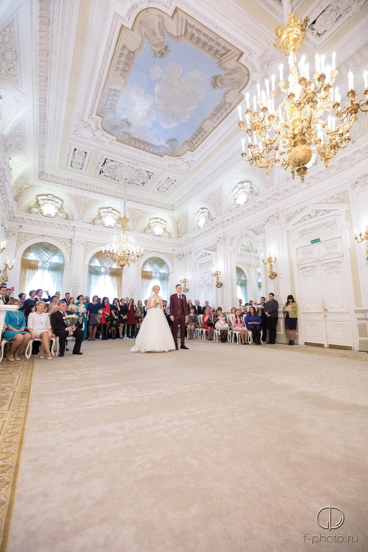 Церемония бракосочетания Санкт-Пе