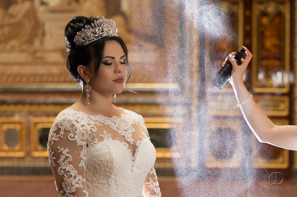 Утренние сборы невесты Санкт-Петер