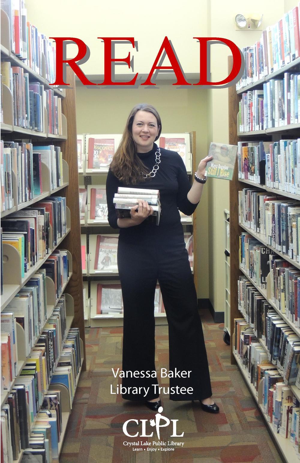 Vanessa Baker Read Poster