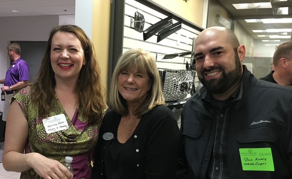 Vanessa Baker, LeeAnn Atwood and Steve Knisely