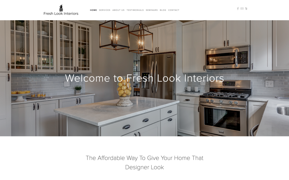 Fresh Look Interiors, Judy Pelinski