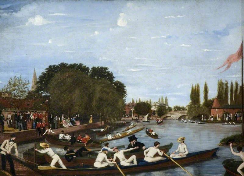 Bedford Regatta 1851 c) Cecil Higgins Art Gallery; Supplied by The Public Catalogue Foundation