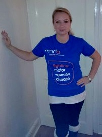 Raising money for Motor Neurone Disease research.