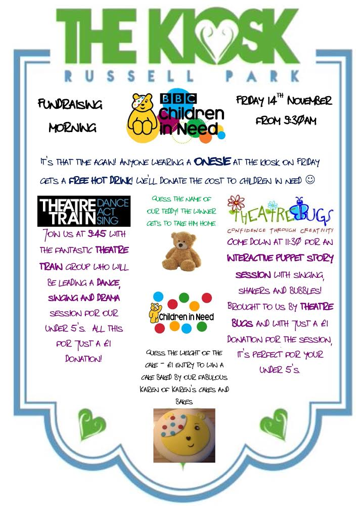 Children in Need 2014 poster