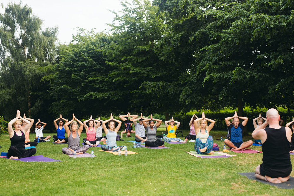 Yoga at the Park - International Yoga day 2017