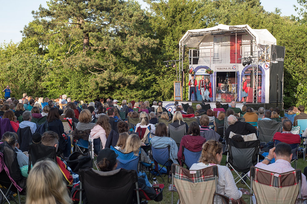 Theatre at the Park - Bedford's own summer of shakespeare