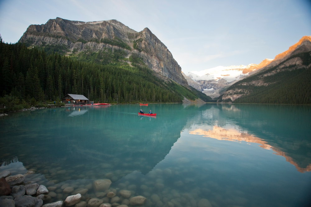 Photo Credit:  Lake Louise Boat House  Banff Lake Louise Tourism  Paul Zizka Photography