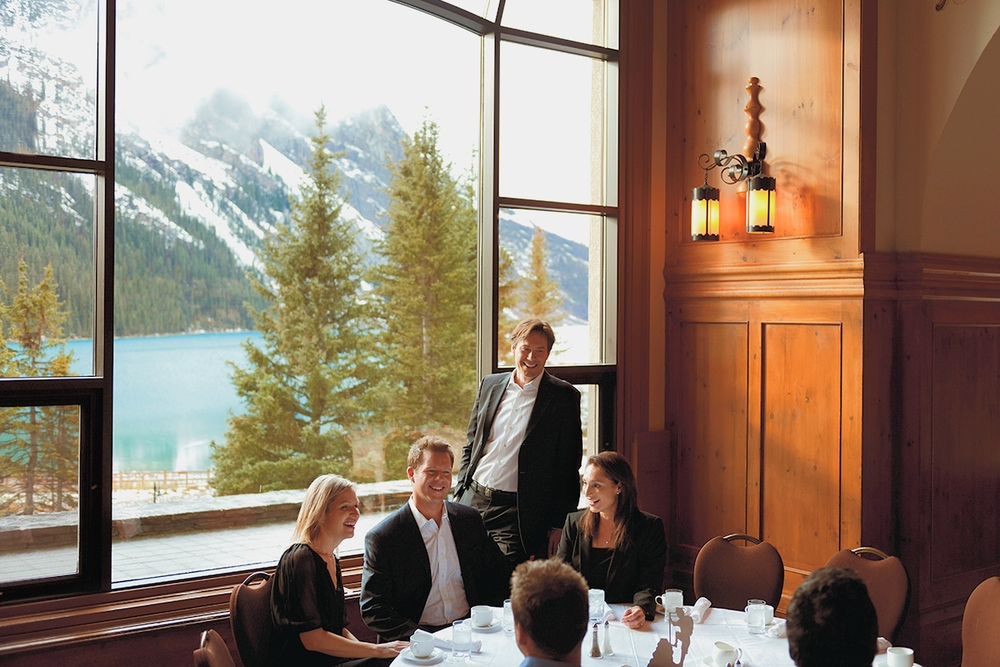 Photo Credit: Fairmont Chateau Lake Louise Boardroom   Banff Lake Louise Tourism Paul Zizka Photography