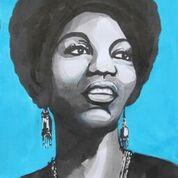 Nina Simone Portrait by Obiageli Okigbo