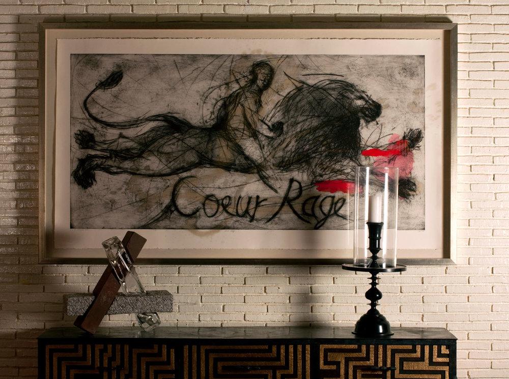 Coeur Rage, Painting, Deborah Bell