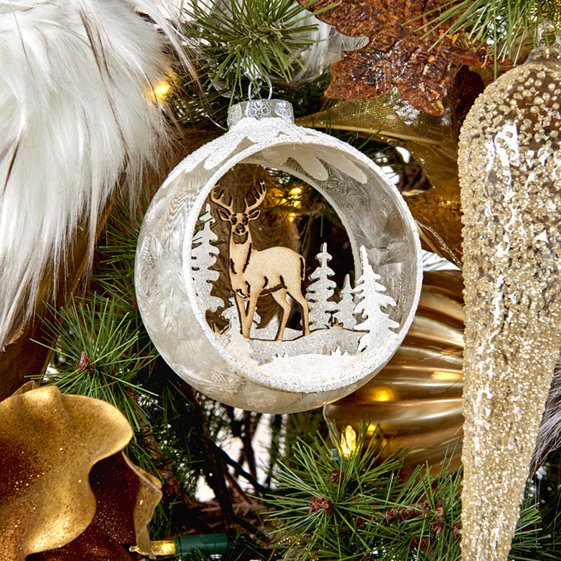 ENCHANTED BAUBLES    Give the gift of a glass bauble to the avid tree decor lover and be remembered for Christmases to come when your unique ornament is lovingly hung year after year.
